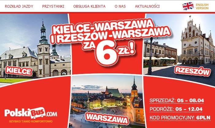 Promocja od Polskiego Busa